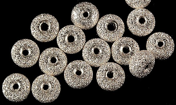 Frosted Sterling Washers (Price Per Pair)