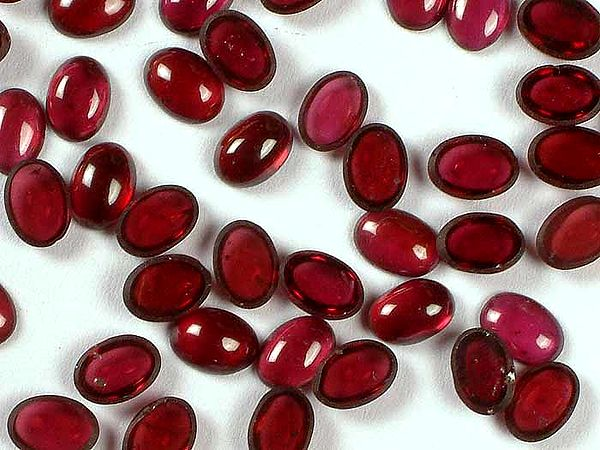 Garnet mm Sized Cabochons