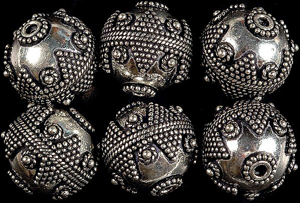 Granulated Sterling Fine Beads (Price Per Piece)