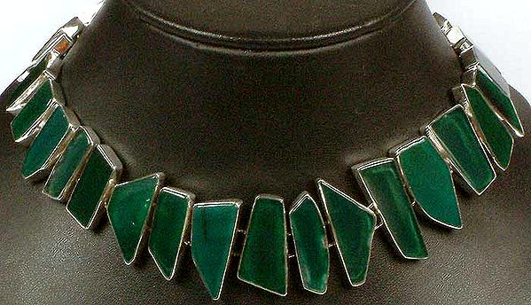 Green Onyx Choker