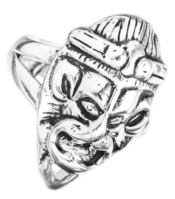 Lord Narasimha (Sterling Ring)