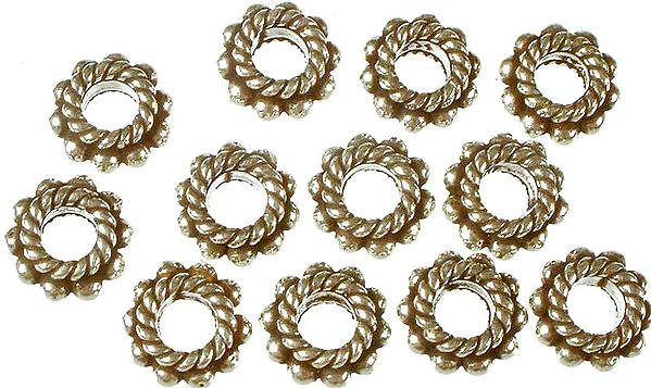 Knotted Rope Beads
