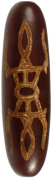 Large Onyx Cylinder  Incised with Vajra (Price Per Piece)
