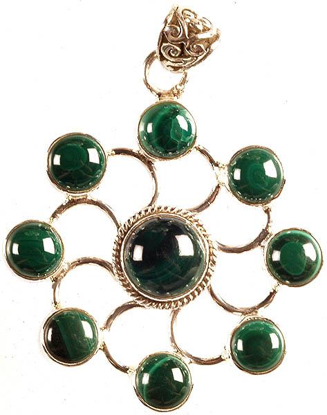Malachite Chakra Pendant