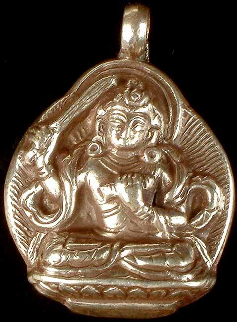 Manjushri - The Bodhisattva of Wisdom (pendant)