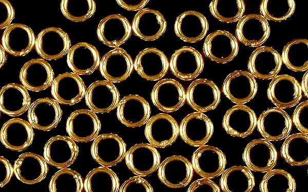 6 mm Gold Plated Jump Rings