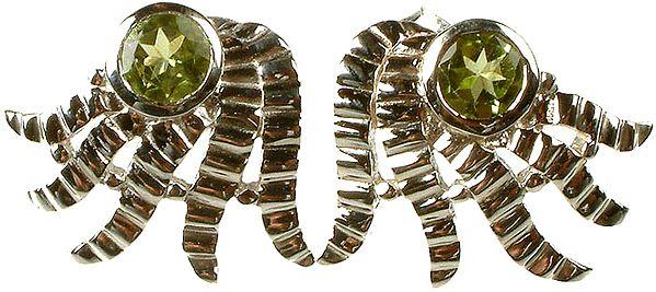 Peridot Designer Earrings