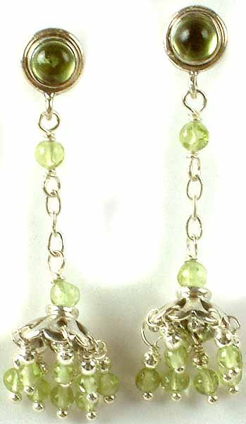 Peridot Umbrella Chandeliers