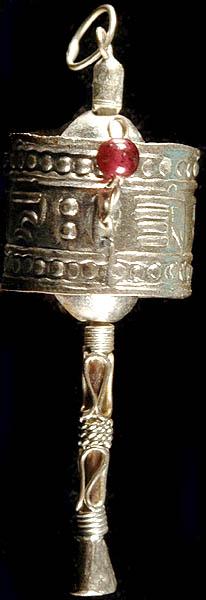 The Prayer Wheel (cho-kor or khorten)
