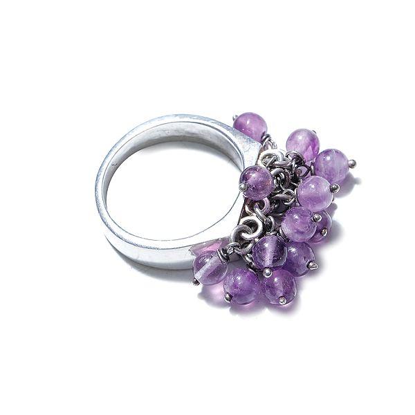 Amethyst Gypsy Ring
