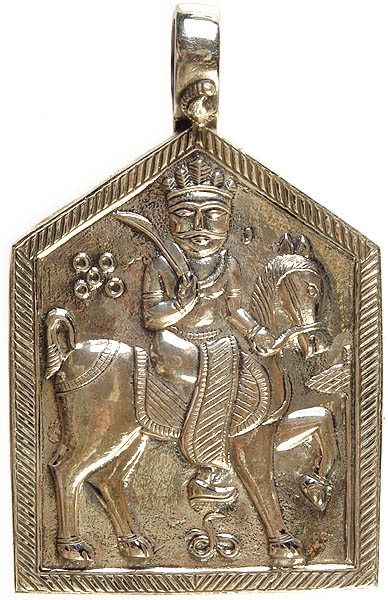 Ramadevaji of Rajasthan pendant
