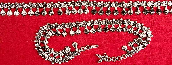 Ratangarhi Anklets (Price Per Pair)