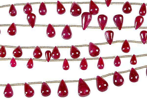 Ruby Plain Drops