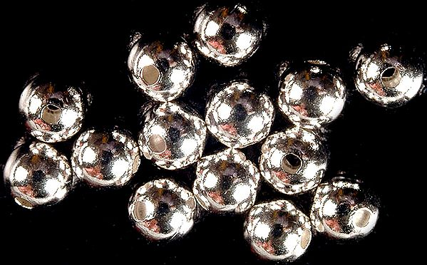 Sterling Ball Beads (Price Per Four Pieces)