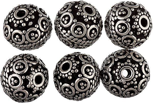 Sterling Fine Beads (Price Per Pair)