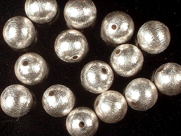 Sterling Frosted Balls (Price Per Four Pieces)