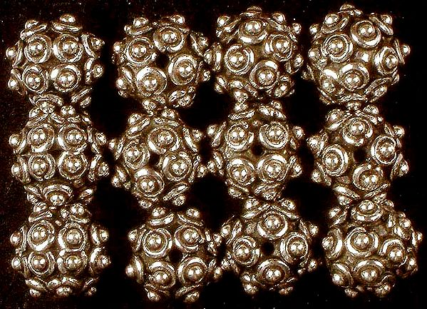 Sterling Granulated Beads