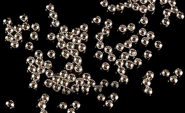 Sterling mm Sized Beads (Price Per Two Dozen)