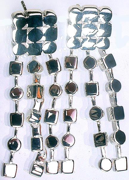 Sterling Shower Post Earrings