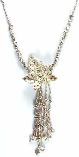 Sterling Vegetal Necklace
