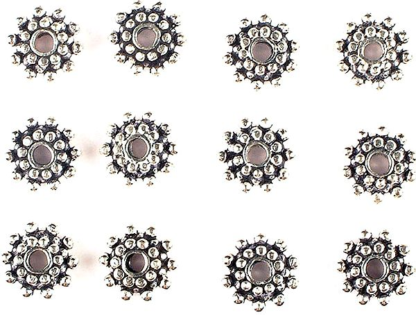 Three Layered Beads (Price Per Four Pieces)