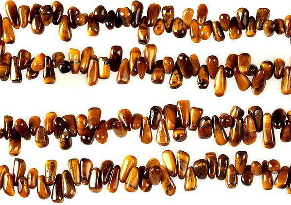 Tiger Eye Side-drilled Plain Drops