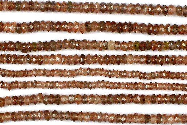 Tourmaline Faceted Rondells