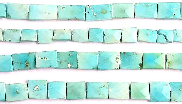 Turquoise Faceted Chewing Gum