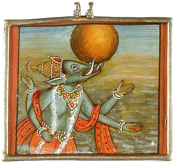 Vishnu as Varaha Incarnation