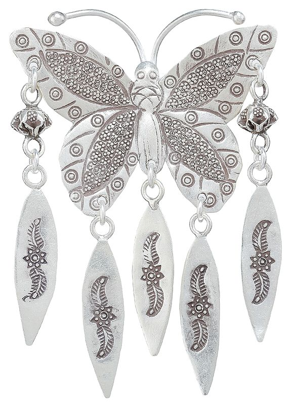 Butterfly pendant with Danglers