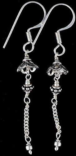 Sterling Earrings with Dangle - Sterling Silver