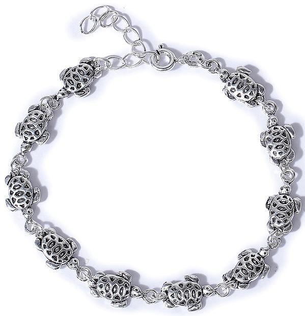 Sterling Tortoise Bracelet