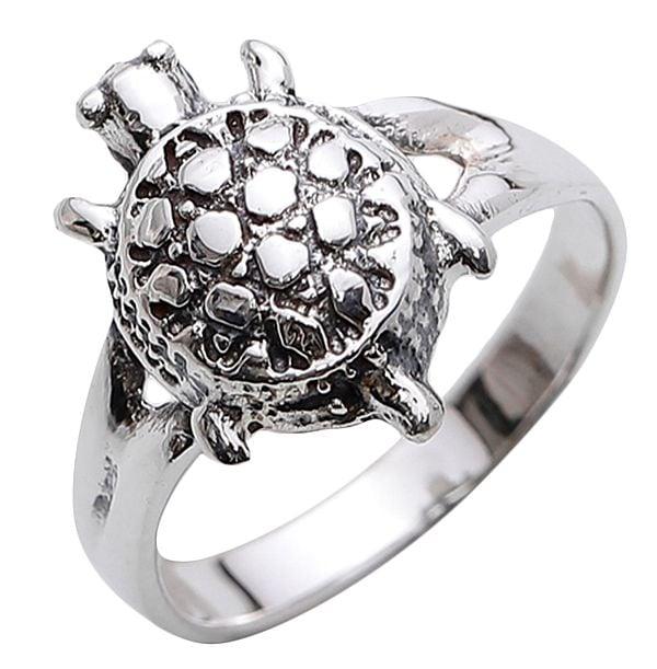 Sterling Tortoise Ring