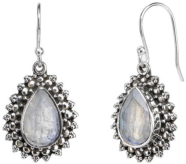 Rainbow Moonstone Earrings