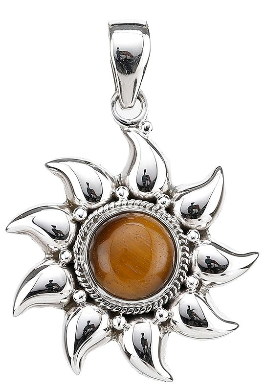 Tiger Eye Surya Pendant