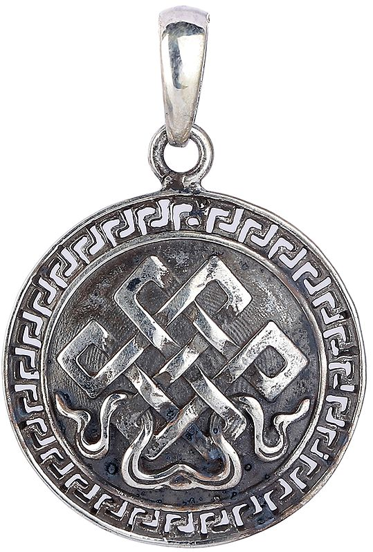 Endless Knot (Ashtamangala) Pendant