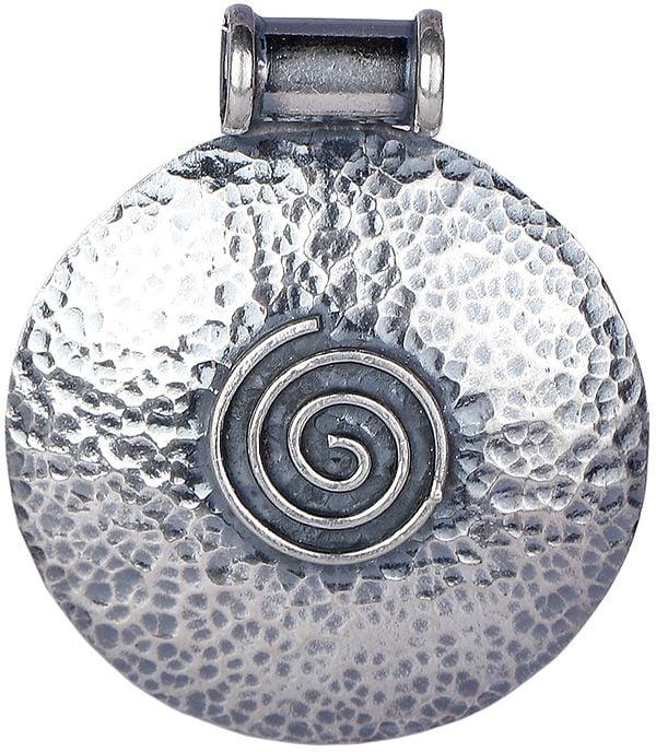 Large Spiral Chakra Pendant