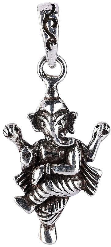 Dancing Ganesha Pendant