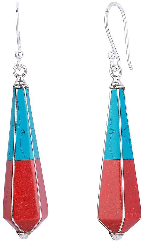 Cone Drop Earrings