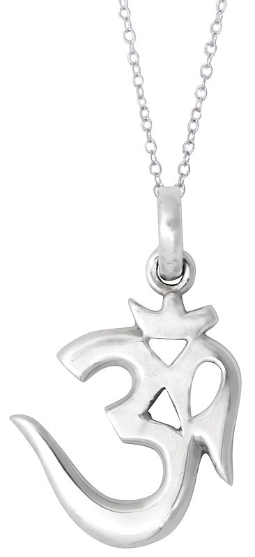 Om (AUM) Pendant made of Sterling Silver