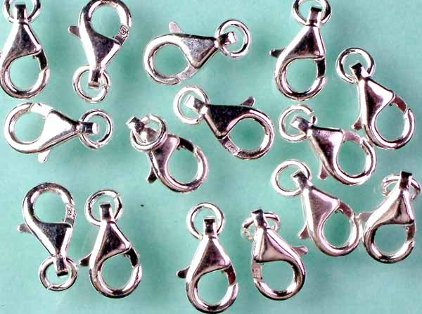Fish Lock with Jump Ring (Price Per Piece)