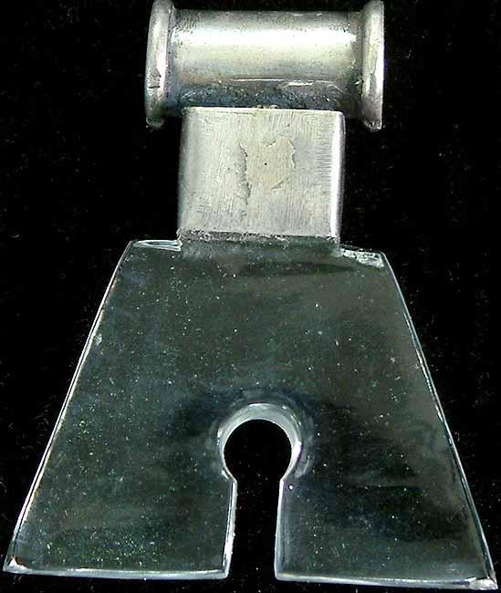 Crystal Keyhole Pendant