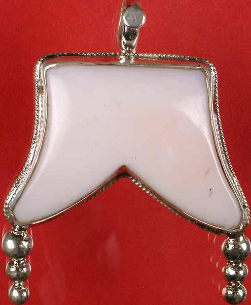 Sterling Shell Pendant