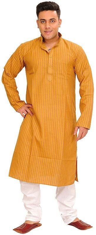 Striped Printed Casual Kurta Pajama Set
