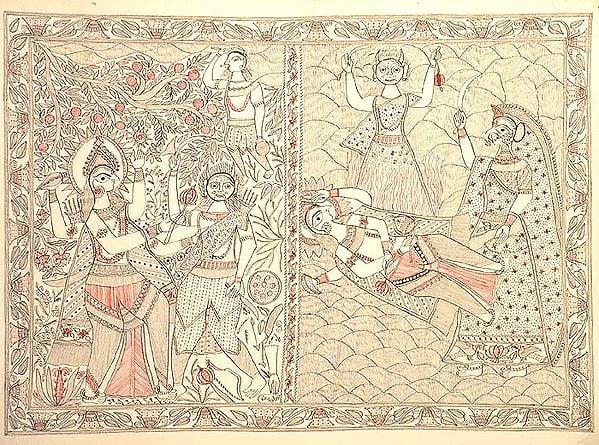 An Episode from the Devi Bhagavata?