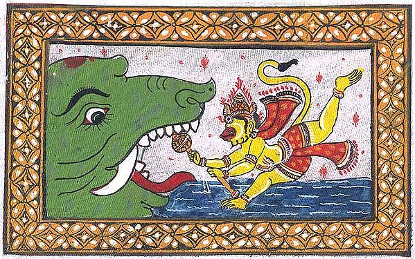 An Episode from the Ramayana