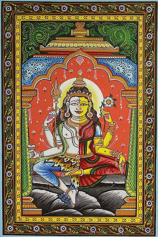 Ardhanarishvara (Shiva Shakti)
