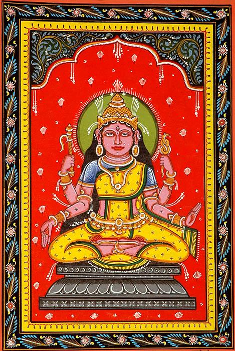 Bhuvaneshvari the Creator of the World (Ten Mahavidya Series)