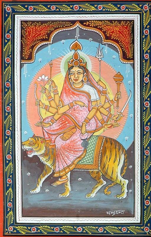 CHANDRAGHANTA - Navadurga (The Nine Forms of Goddess Durga)