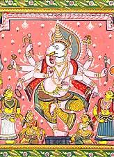 Dancing Ganeshas